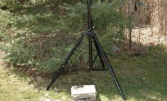 Tactical Repeater / solar / tripod / UHF antenna (desert camo)